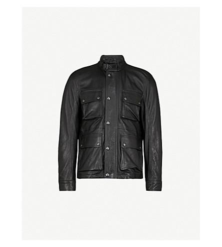 BELSTAFF Brad 3.0 leather jacket (Black