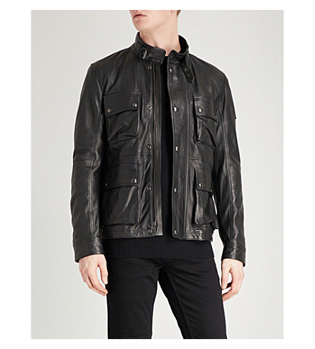 BELSTAFF Brad 3.0 leather jacket (Black