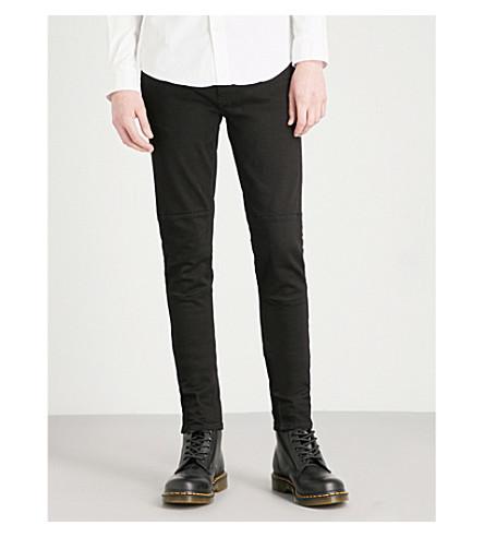 BELSTAFF Tattenhall slim-fit skinny jeans (Rinsed+black