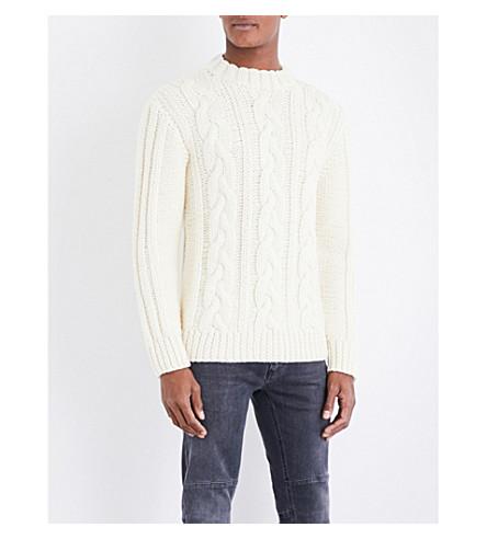 BELSTAFF Holmesdale wool jumper (Natural