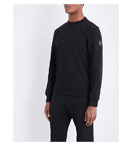 BELSTAFF Tilney cotton-jersey sweatshirt (Black