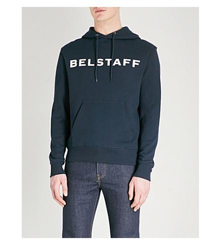 BELSTAFF Belstaff x Sophnet Marfield cotton-jersey hoody (Navy