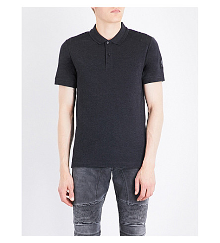 BELSTAFF Hitchin cotton-jersey polo shirt (Dark+charcoal