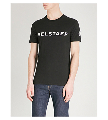 BELSTAFF Hynton cotton T-shirt (Black