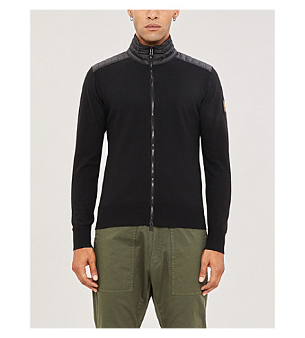 BELSTAFF Kelby wool and shell jacket (Black