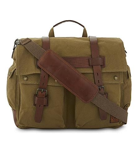 BELSTAFF Colonial messenger bag (Khaki