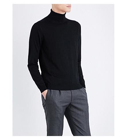 SEBIRO BY UNITED ARROWS Turtleneck wool jumper (Black