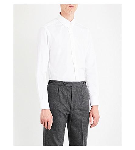 SEBIRO BY UNITED ARROWS Slim-fit cotton-poplin shirt (White
