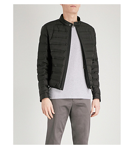 D'AVENZA Padded shell-down jacket (Black