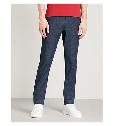 JACOB COHEN Relaxed-fit denim jogging bottoms (Denim