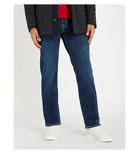 JACOB COHEN Tailored-fit straight jeans (Blue+2