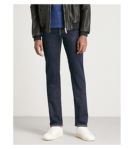 JACOB COHEN Tailored-fit straight jeans (Navy+2