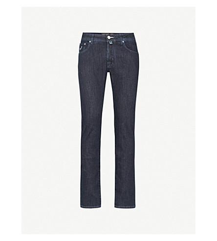 JACOB COHEN Slim-fit straight jeans (Navy