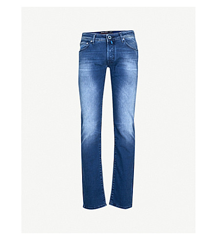 JACOB COHEN Tailored-fit straight jeans (Blue