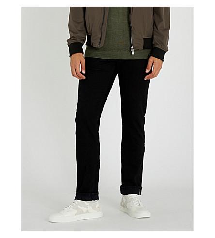 JACOB COHEN Slim-fit straight jeans (Black