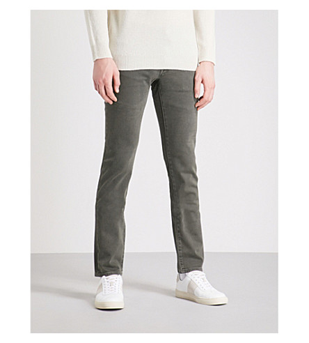 雅各布科恩瘦身直牛仔裤 (绿色