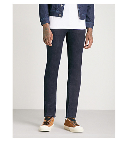 JACOB COHEN Slim-fit straight jeans (Navy