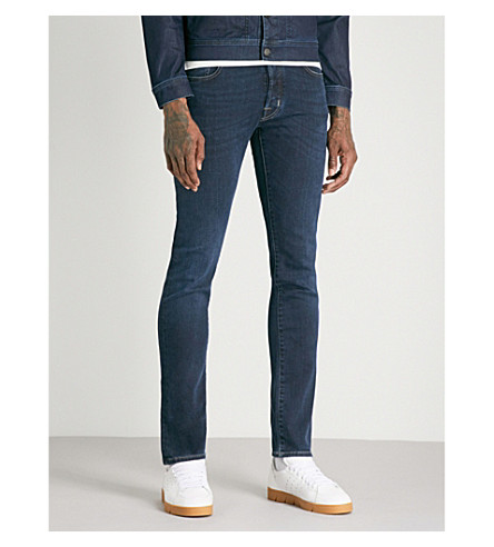 JACOB COHEN Slim-fit tapered jeans (Blue
