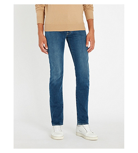 JACOB COHEN Slim-fit straight jeans (Blue