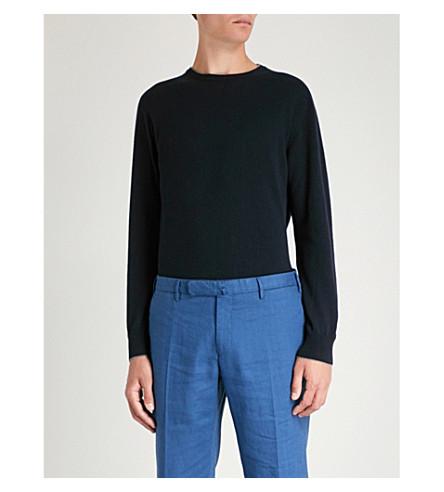 ELEVENTY Cashmere jumper (Blue