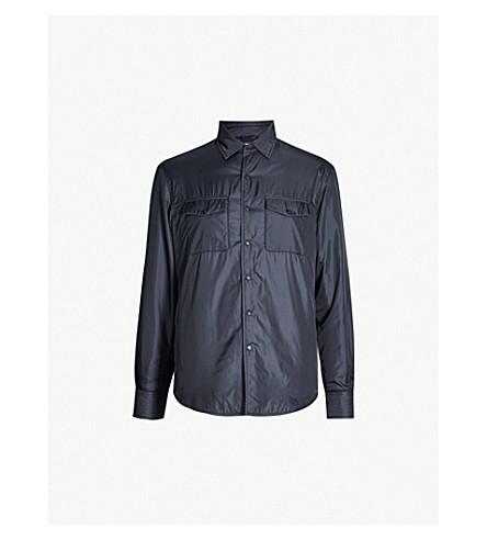 ASPESI Flap-pocket shell jacket (Blu navy