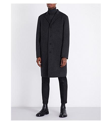 JIL SANDER Maratea wool coat (Dark+grey