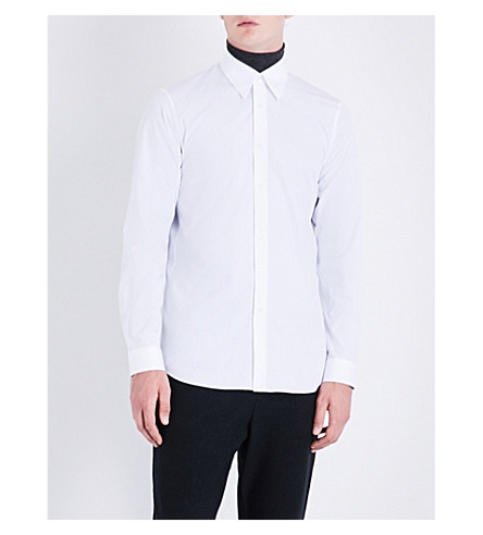 JIL SANDER Nuvola regular-fit cotton shirt (White