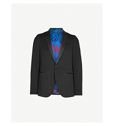 ETRO Regular-fit cotton-jersey jacket (Black