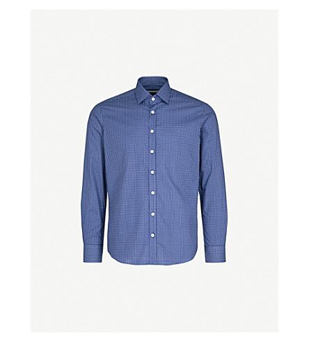 ETRO Paisley-print cotton shirt (Blue