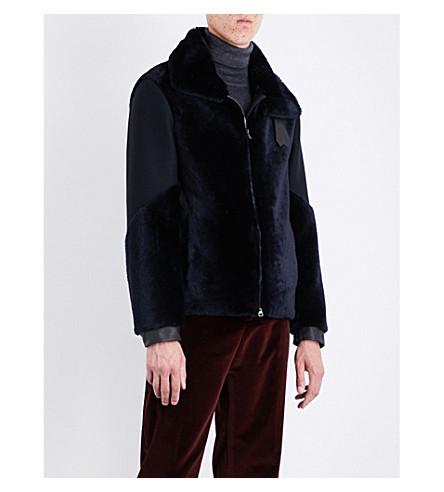 ETRO Avaitor shearling jacket (Midnight