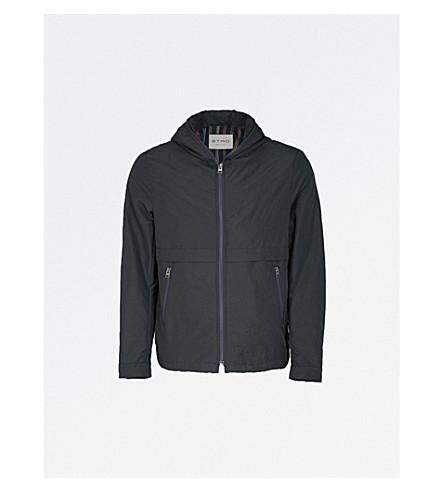 ETRO Paisley jacquard shell bomber jacket (Navy