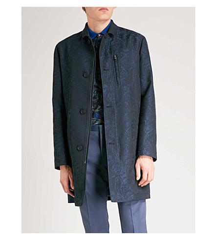 ETRO Paisley-pattern jacquard jacket (Navy