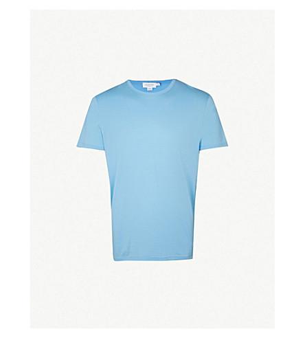 SUNSPEL Classic cotton-jersey T-shirt (Blue