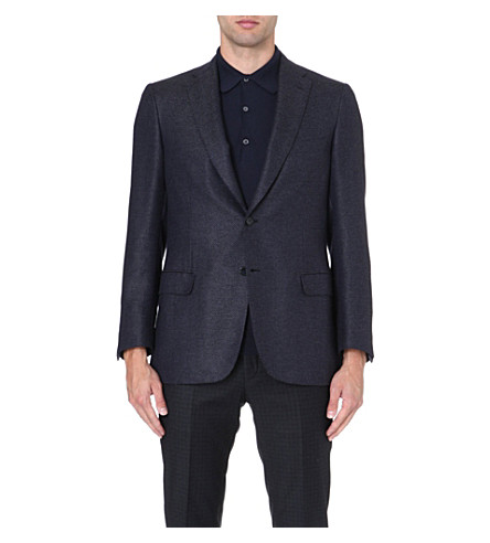 BRIONI Cashmere-blend jacket (Navy