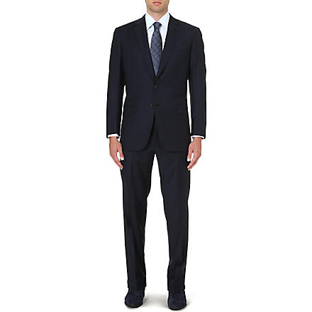 BRIONI Colosseo single-breasted wool suit (Navy