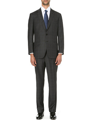 BRIONI Colosseo cashmere-blend regular-fit suit