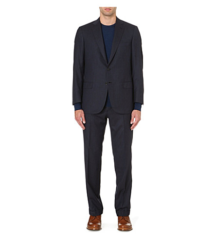 BRIONI Colosseo cashmere-blend regular-fit suit (Navy