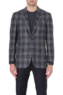 BRIONI Checked wool jacket