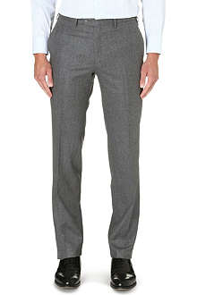 BRIONI Regular-fit straight leg wool trousers