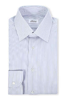 BRIONI Clark striped cotton shirt