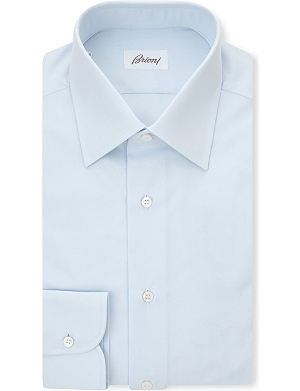 BRIONI Clark single-cuff cotton shirt