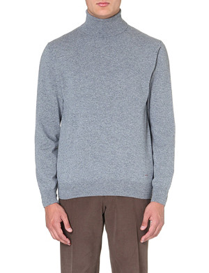 BRIONI Roll-neck cashmere jumper