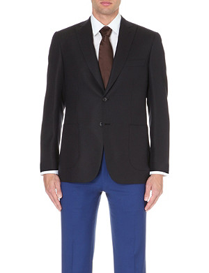 BRIONI Bracciano wool and mohair-blend jacket