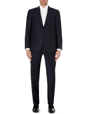 BRIONI Striped single-breasted regular-fit wool suit