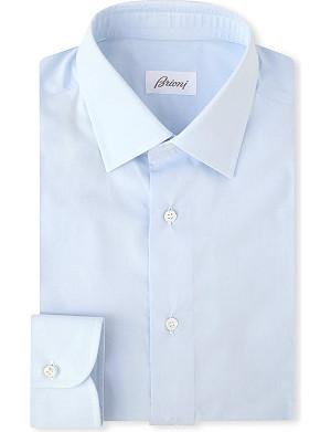 BRIONI Slim-fit cotton shirt