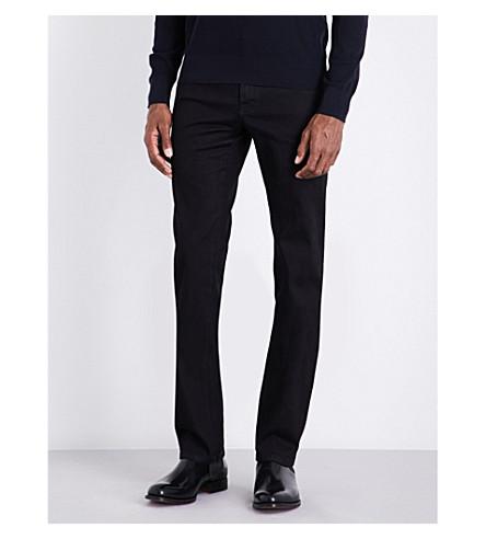BRIONI Chamonix regular-fit straight-leg jeans (Black