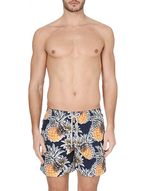 VILEBREQUIN Moorea pineapple-print swim shorts