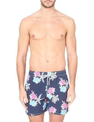 VILEBREQUIN Moorea Hibiscis Turtle swim shorts