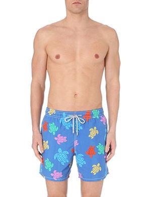 VILEBREQUIN Turtle print Moorea swim shorts