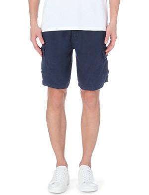 VILEBREQUIN Baie plain linen shorts